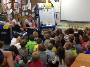 Dairy Princesses at Everett's School